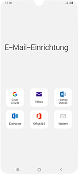 Samsung Galaxy A70 - E-Mail - Manuelle Konfiguration - Schritt 5
