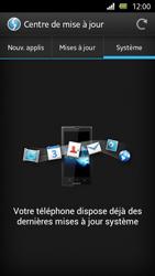 Sony Xperia U - Logiciels - Installation de mises à jour - Étape 8