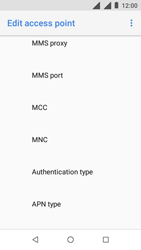 Nokia 1 - MMS - Manual configuration - Step 13