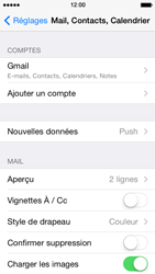 Apple iPhone 5 iOS 7 - E-mail - 032a. Email wizard - Gmail - Étape 11