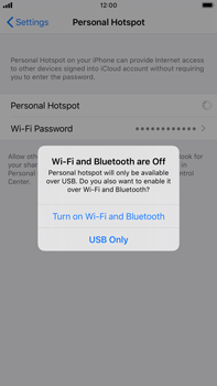 Apple iPhone 6s Plus - iOS 13 - WiFi - How to enable WiFi hotspot - Step 7