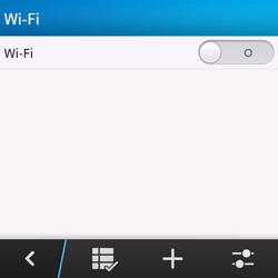 BlackBerry Q10 - Wifi - configuration manuelle - Étape 5