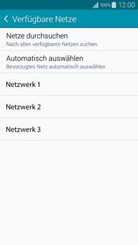 Samsung Galaxy Note 4 - Netzwerk - Manuelle Netzwerkwahl - Schritt 9