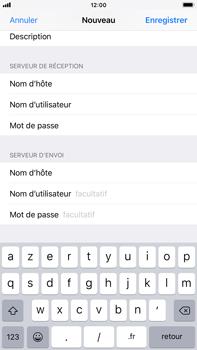 Apple iPhone 8 Plus - iOS 12 - E-mail - Configuration manuelle - Étape 14