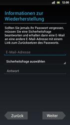 Sony Xperia S - Apps - Einrichten des App Stores - Schritt 8