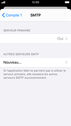 Apple iPhone SE - iOS 13 - E-mail - configuration manuelle - Étape 17