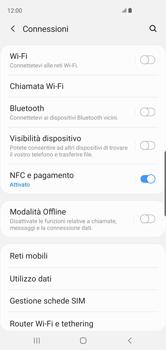 Samsung Galaxy S10 - Internet e roaming dati - Come verificare se la connessione dati è abilitata - Fase 5