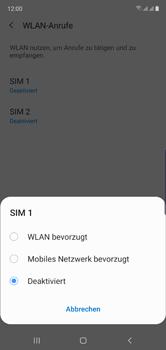Samsung Galaxy Note 10 - WiFi - WiFi Calling aktivieren - Schritt 8