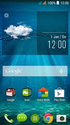 Acer Liquid Z520 - Voicemail - handmatig instellen - Stap 1
