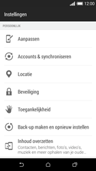 HTC Desire 610 - toestel resetten - fabrieksinstellingen terugzetten - stap 4