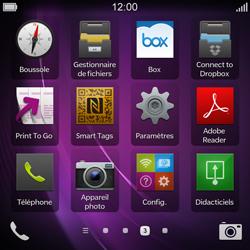 BlackBerry Q10 - Photos, vidéos, musique - Créer une vidéo - Étape 3
