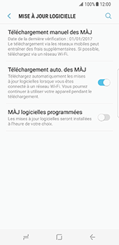 Samsung Galaxy S8 - Logiciels - Installation de mises à jour - Étape 6