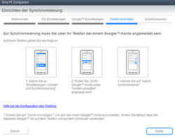 Sony Xperia Z1 - Software - Sicherungskopie Ihrer Daten erstellen - Schritt 8