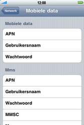 Apple iPhone 4 - Internet - handmatig instellen - Stap 6