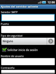 Samsung S5570 Galaxy Mini - E-mail - Configurar correo electrónico - Paso 8