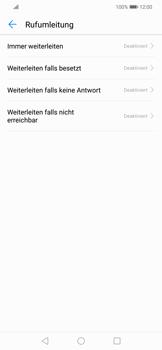 Huawei Mate 20 Lite - Anrufe - Rufumleitungen setzen und löschen - 6 / 9