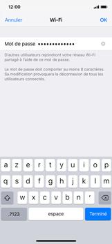 Apple iPhone XS - iOS 12 - Internet et connexion - Partager votre connexion en Wi-Fi - Étape 5