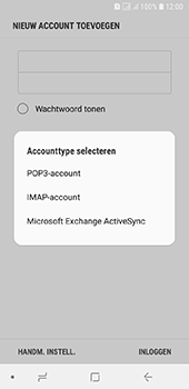 Samsung galaxy-a6-sm-a600fn-ds - E-mail - Account instellen (POP3 zonder SMTP-verificatie) - Stap 9