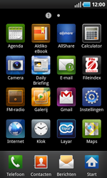 Samsung I9000 Galaxy S - Internet - hoe te internetten - Stap 2