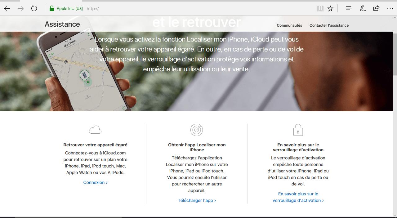 Apple iPhone 8 Plus - Sécuriser votre mobile - Configuration pour retrouver son mobile en cas de perte/vol - Étape 4
