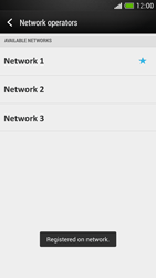 HTC One Mini - Network - Manual network selection - Step 10