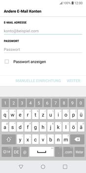 LG G6 - Android Oreo - E-Mail - Konto einrichten - Schritt 7