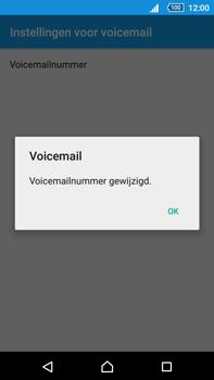 Sony Xperia Z5 Premium (E6853) - voicemail - handmatig instellen - stap 9
