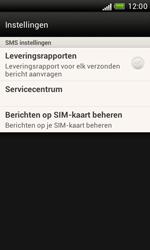 HTC T328e Desire X - SMS - Handmatig instellen - Stap 5