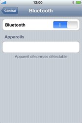Apple iPhone 3G S - Bluetooth - connexion Bluetooth - Étape 10