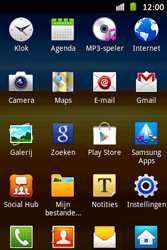 Samsung S6500D Galaxy Mini 2 - E-mail - handmatig instellen - Stap 3