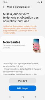 Samsung Galaxy S20 5G - Logiciels - Installation de mises à jour - Étape 7