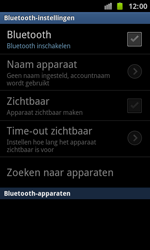 Samsung I8160 Galaxy Ace II - Bluetooth - koppelen met ander apparaat - Stap 8