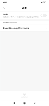 Xiaomi RedMi Note 7 - WiFi - Configuration du WiFi - Étape 4