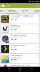 Sony Xperia Z3 - Apps - Installieren von Apps - Schritt 7