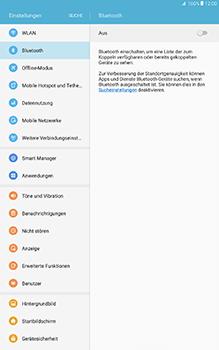 Samsung Galaxy Tab A 10.1 - Bluetooth - Geräte koppeln - 7 / 11