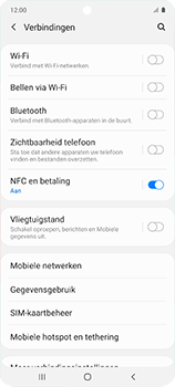 Samsung galaxy-a51-sm-a515f - WiFi - Mobiele hotspot instellen - Stap 5