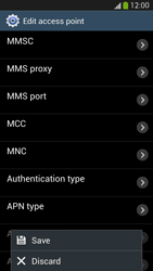 Samsung Galaxy S 4 LTE - MMS - Manual configuration - Step 14