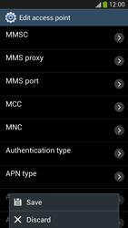 Samsung I9505 Galaxy S IV LTE - MMS - Manual configuration - Step 14
