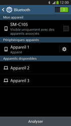 Samsung C105 Galaxy S IV Zoom LTE - Bluetooth - connexion Bluetooth - Étape 10