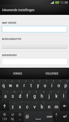 HTC One Mini - E-mail - Account instellen (IMAP met SMTP-verificatie) - Stap 10