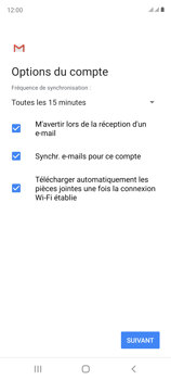 Samsung Galaxy S20 FE - E-mails - Ajouter ou modifier votre compte Yahoo - Étape 12