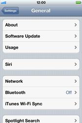 Apple iPhone 4 S - Internet - Disable data roaming - Step 4
