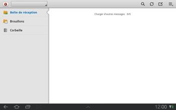 Samsung P7500 Galaxy Tab 10-1 - E-mail - envoyer un e-mail - Étape 3