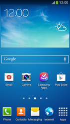 Samsung Galaxy S 4 Mini LTE - Getting started - Installing widgets and applications on your start screen - Step 1
