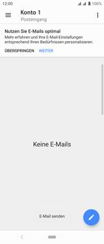 Sony Xperia 10 - E-Mail - E-Mail versenden - Schritt 17