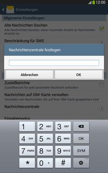 Samsung Galaxy Tab 3 8-0 LTE - SMS - Manuelle Konfiguration - 7 / 9