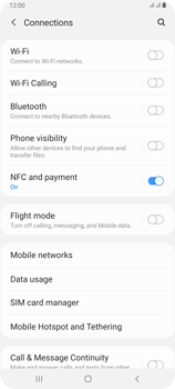 Samsung Galaxy A80 - Internet and data roaming - How to check if data-connectivity is enabled - Step 5