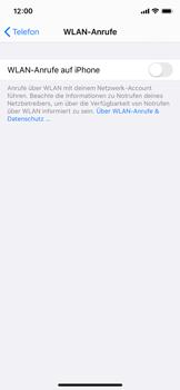 Apple iPhone XS - iOS 13 - WiFi - WiFi Calling aktivieren - Schritt 6