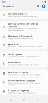 Samsung Galaxy Note20 Ultra 5G - Aller plus loin - Restaurer les paramètres d'usines - Étape 4