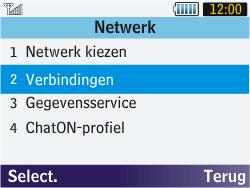 Samsung S3570 Chat 357 - MMS - Handmatig instellen - Stap 5